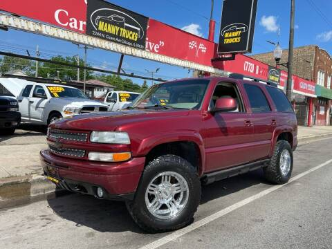 2003 Chevrolet Tahoe for sale at Manny Trucks in Chicago IL