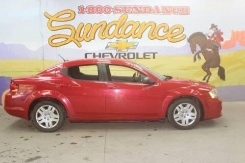 2014 Dodge Avenger for sale at Sundance Chevrolet in Grand Ledge MI