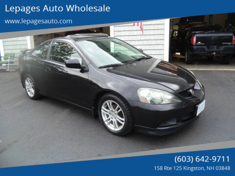 2006 Acura RSX for sale at Lepages Auto Wholesale in Kingston NH