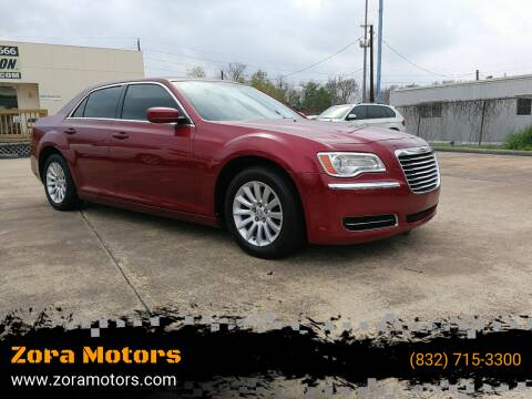 2014 Chrysler 300 for sale at Zora Motors in Houston TX