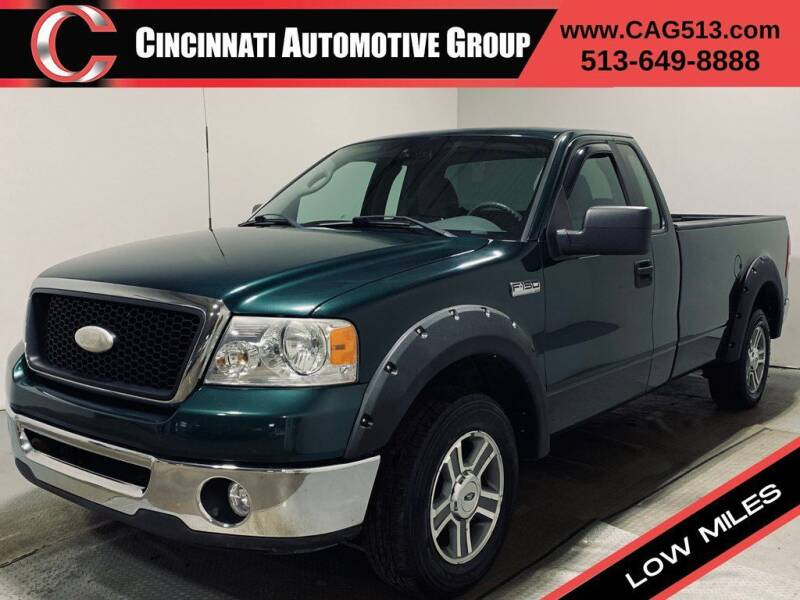 2007 Ford F-150 for sale at Cincinnati Automotive Group in Lebanon OH