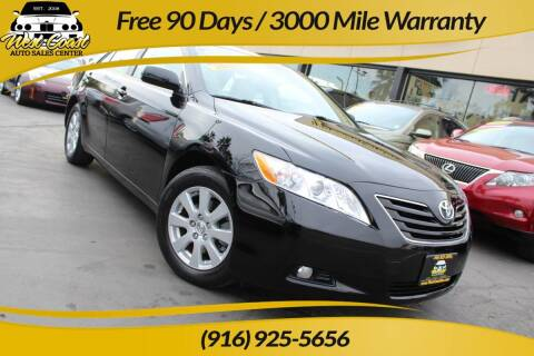2007 Toyota Camry for sale at West Coast Auto Sales Center in Sacramento CA