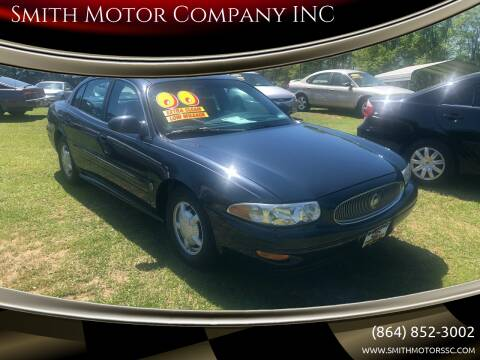 2000 Buick LeSabre for sale at Smith Motor Company INC in Mc Cormick SC