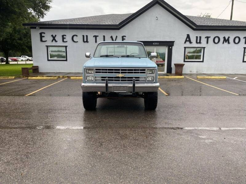 1987 Chevrolet R/V 10 Series for sale at Executive Automotive Service of Ocala in Ocala FL