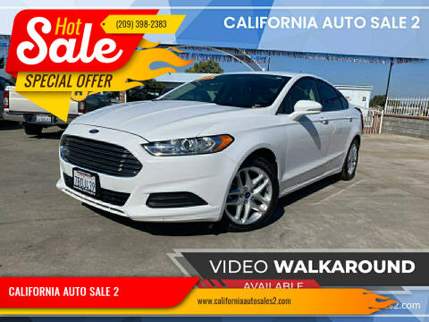 2013 Ford Fusion for sale at CALIFORNIA AUTO SALE 2 in Livingston CA