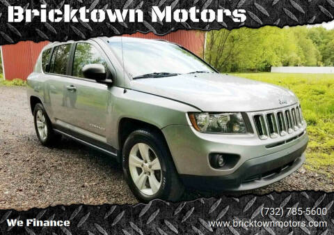 2015 Jeep Compass for sale at Bricktown Motors in Brick NJ