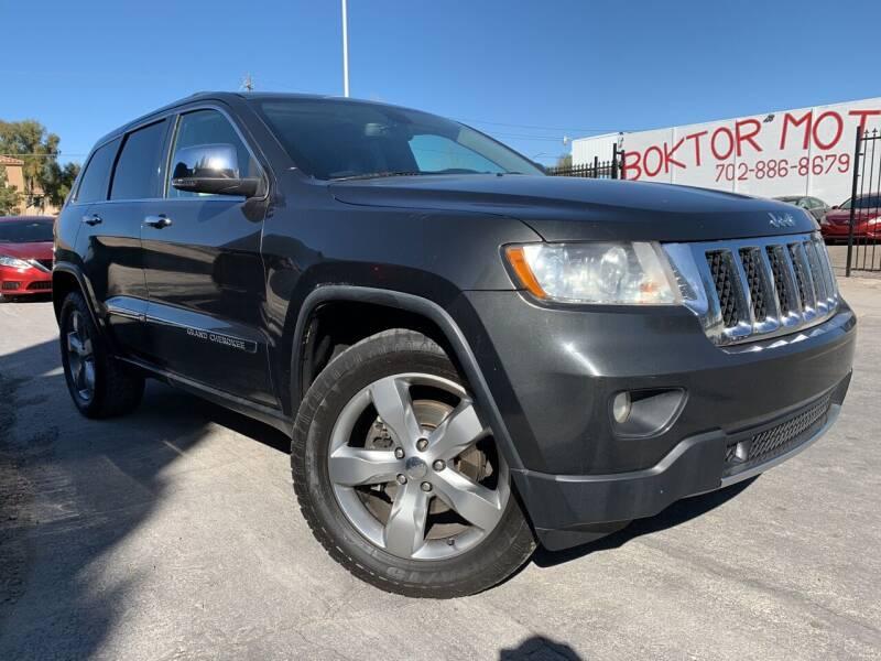 2011 Jeep Grand Cherokee for sale at Boktor Motors in Las Vegas NV