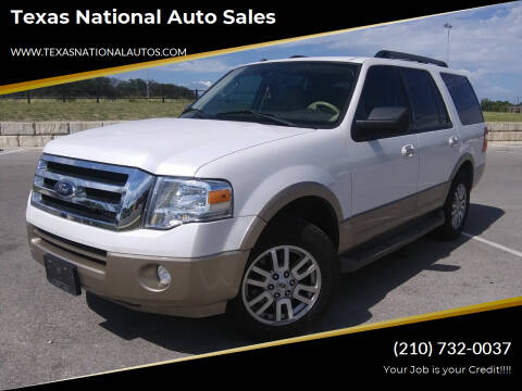 2012 Ford Expedition for sale at Texas National Auto Sales in San Antonio TX