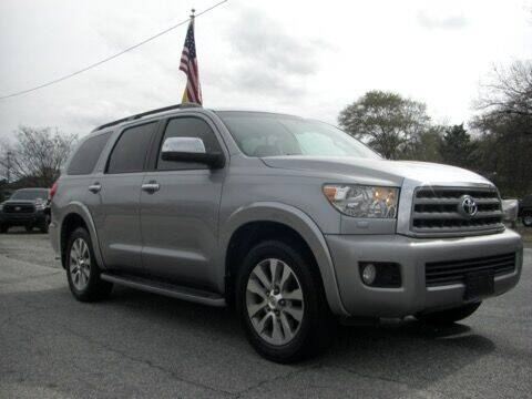 2010 Toyota Sequoia for sale at Manquen Automotive in Simpsonville SC