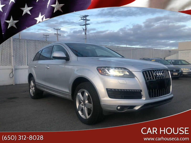 2012 Audi Q7 for sale at Car House in San Mateo CA