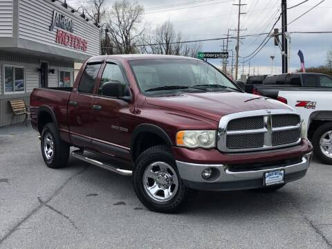 2002 Dodge Ram Pickup 1500 for sale at Jarboe Motors in Westminster MD