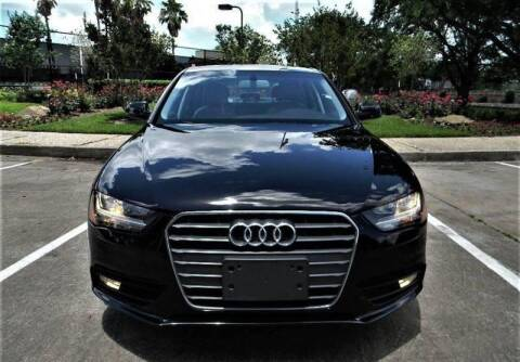 2014 Audi A4 for sale at AUTO LIQUIDATORS OF TEXAS in Richmond TX