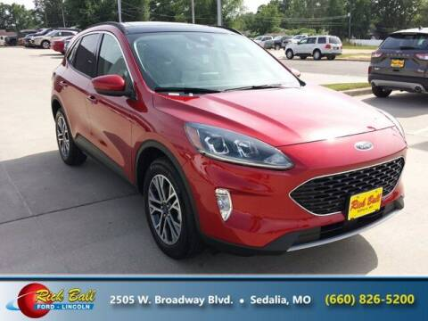 2020 Ford Escape for sale at RICK BALL FORD in Sedalia MO