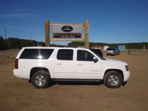 2007 Chevrolet Suburban for sale at Elk Creek Motors LLC in Park Rapids MN