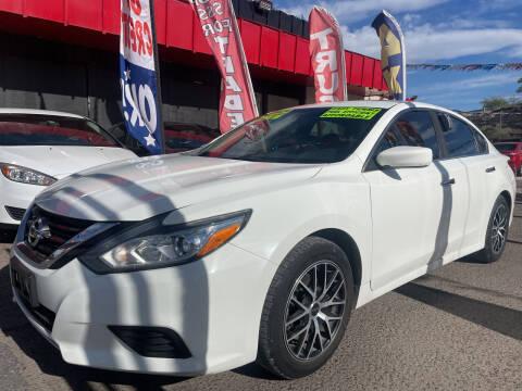 2017 Nissan Altima for sale at Duke City Auto LLC in Gallup NM