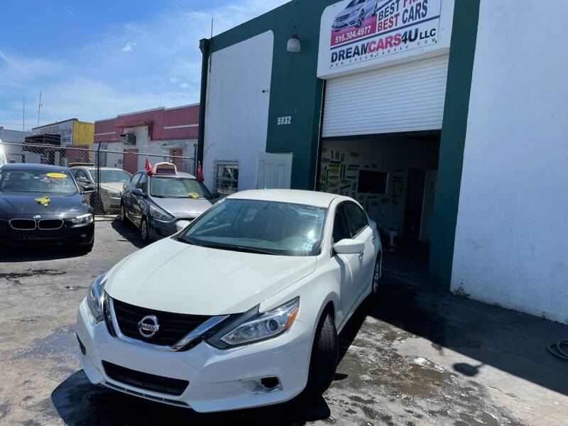 2018 Nissan Altima for sale at Dream Cars 4 U in Hollywood FL