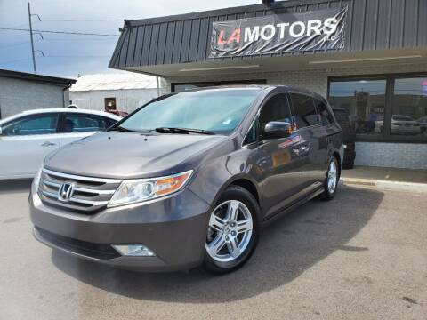 2013 Honda Odyssey for sale at LA Motors LLC in Denver CO