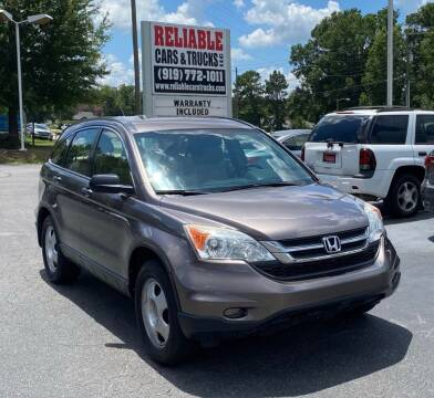 2010 Honda CR-V for sale at Reliable Cars & Trucks LLC in Raleigh NC