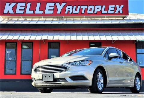 2017 Ford Fusion for sale at Kelley Autoplex in San Antonio TX