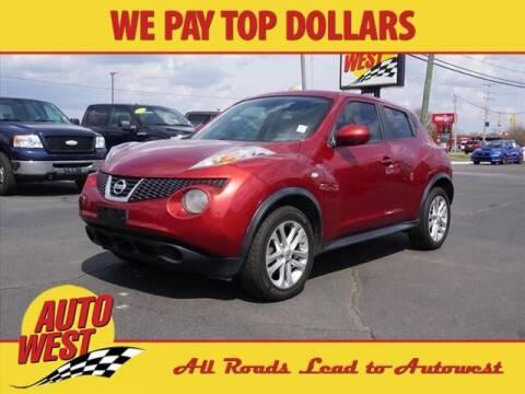 2011 Nissan JUKE for sale at Autowest Allegan in Allegan MI