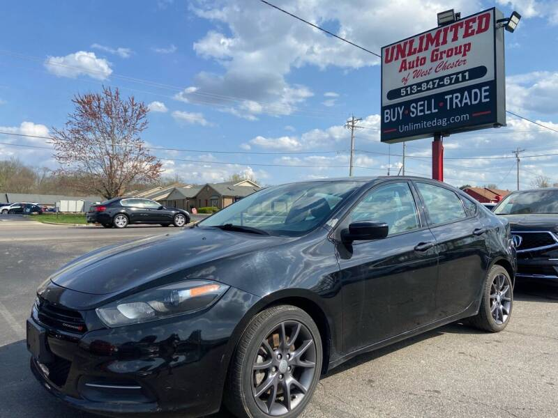 2016 Dodge Dart for sale at Unlimited Auto Group in West Chester OH