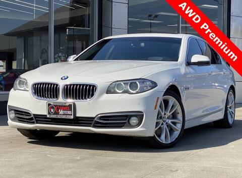2016 BMW 5 Series for sale at Carmel Motors in Indianapolis IN