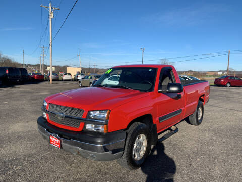 2004 Chevrolet Silverado 1500 for sale at Carmans Used Cars & Trucks in Jackson OH
