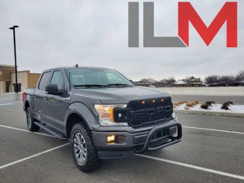 2018 Ford F-150 for sale at INDY LUXURY MOTORSPORTS in Fishers IN