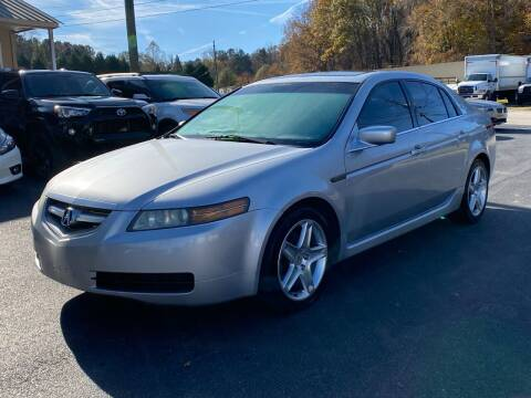 2005 Acura TL for sale at Luxury Auto Innovations in Flowery Branch GA