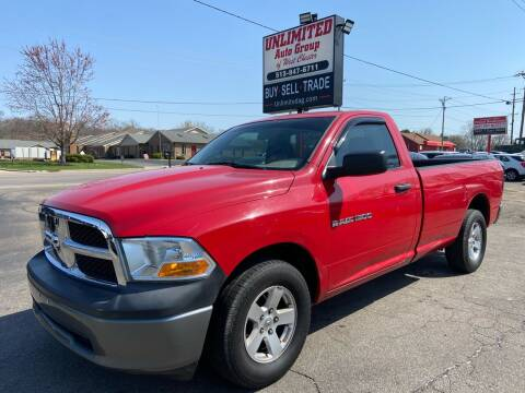 2011 RAM Ram Pickup 1500 for sale at Unlimited Auto Group in West Chester OH