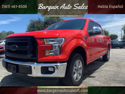 2016 Ford F-150 for sale at Bargain Auto Sales in West Palm Beach FL