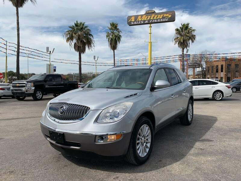 2009 Buick Enclave for sale at A MOTORS SALES AND FINANCE in San Antonio TX