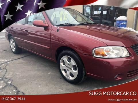 2005 Nissan Sentra for sale at Sugg Motorcar Co in Boyertown PA