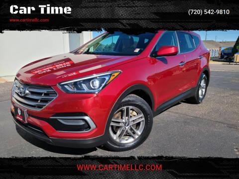2017 Hyundai Santa Fe Sport for sale at Car Time in Denver CO