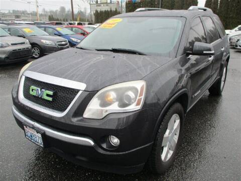 2007 GMC Acadia for sale at GMA Of Everett in Everett WA