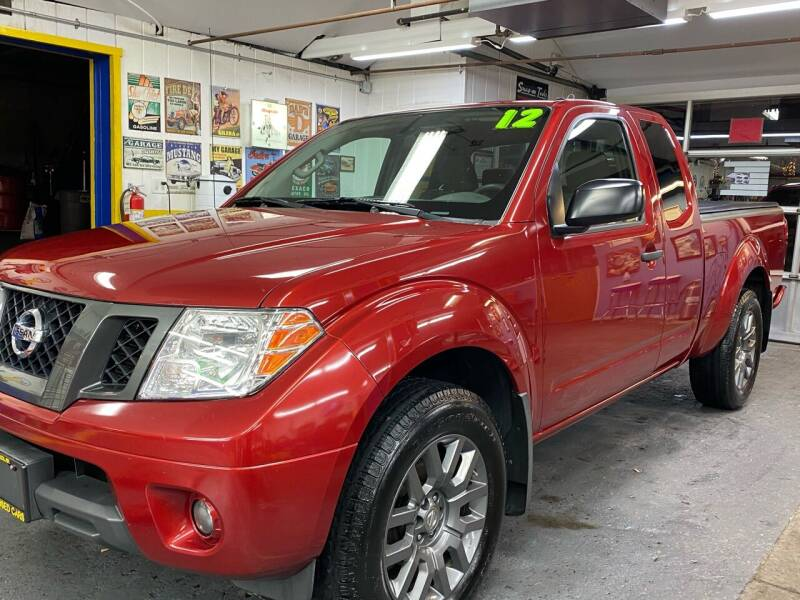 2012 Nissan Frontier for sale at PELHAM USED CARS & AUTOMOTIVE CENTER in Bronx NY