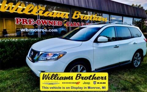 2015 Nissan Pathfinder for sale at Williams Brothers - Pre-Owned Monroe in Monroe MI