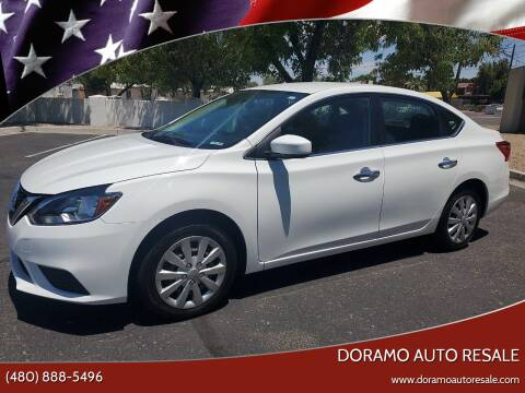 2017 Nissan Sentra for sale at DORAMO AUTO RESALE in Glendale AZ