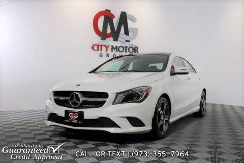 2014 Mercedes-Benz CLA for sale at City Motor Group, Inc. in Wanaque NJ
