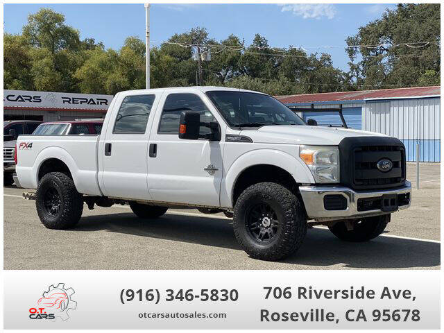 2013 Ford F-250 Super Duty for sale at OT CARS AUTO SALES in Roseville CA