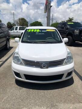 2008 Nissan Versa for sale at DAN'S DEALS ON WHEELS in Davie FL