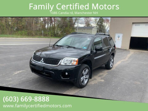 2011 Mitsubishi Endeavor for sale at Family Certified Motors in Manchester NH