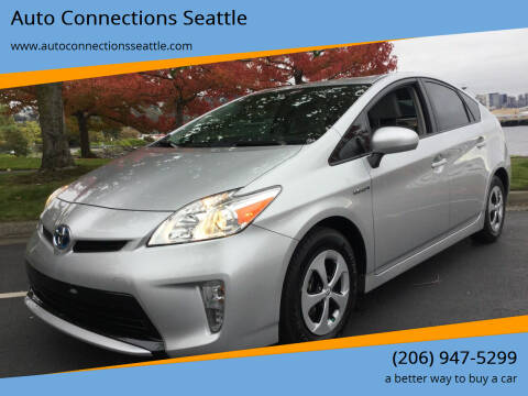 2015 Toyota Prius for sale at Auto Connections Seattle in Seattle WA