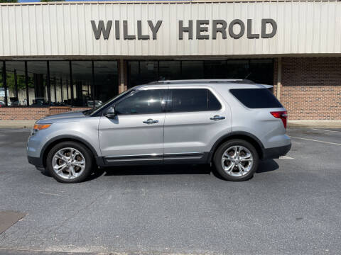 2013 Ford Explorer for sale at Willy Herold Automotive in Columbus GA