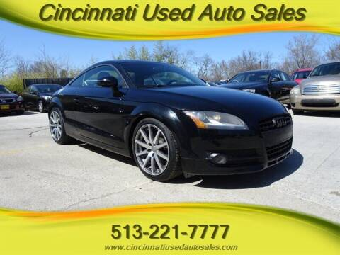 2009 Audi TT for sale at Cincinnati Used Auto Sales in Cincinnati OH