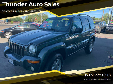 2002 Jeep Liberty for sale at Thunder Auto Sales in Sacramento CA