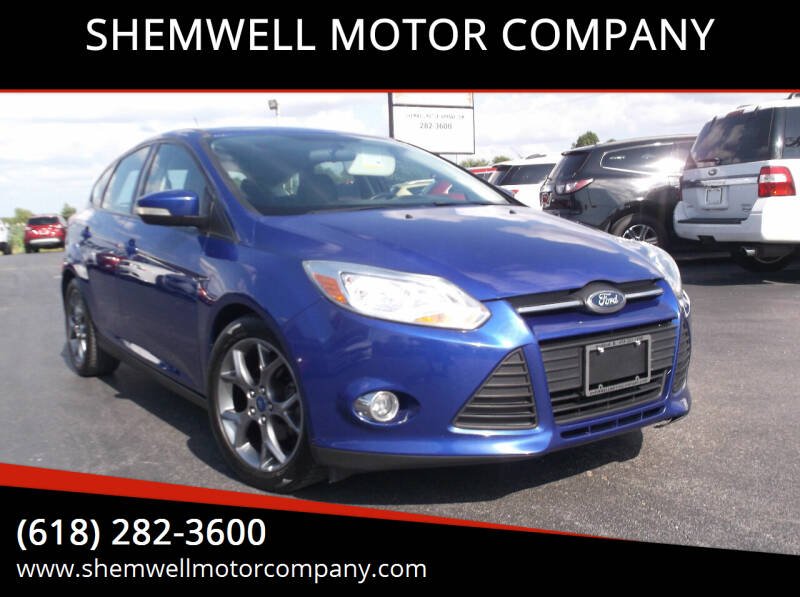2014 Ford Focus for sale at SHEMWELL MOTOR COMPANY in Red Bud IL