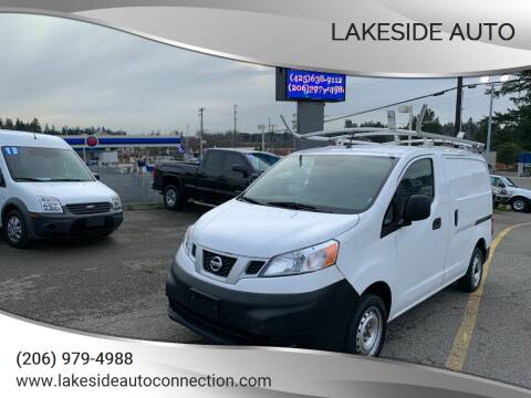 2015 Nissan NV200 for sale at Lakeside Auto in Lynnwood WA