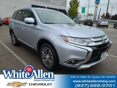 2017 Mitsubishi Outlander for sale at WHITE-ALLEN CHEVROLET in Dayton OH