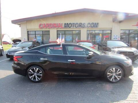 2017 Nissan Maxima for sale at Cardinal Motors in Fairfield OH